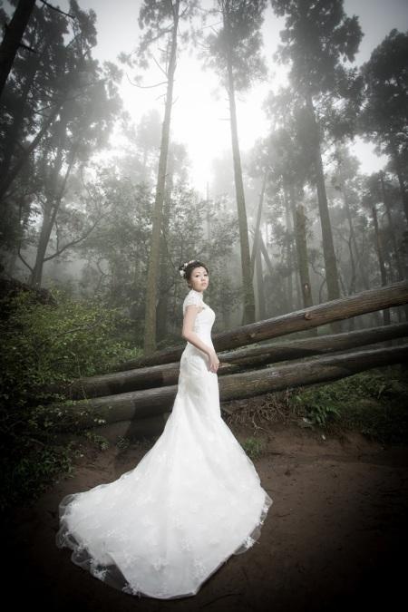 森林系婚紗照-台北婚攝文子Mosquito