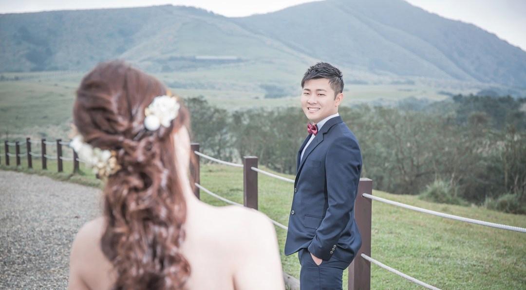 大自然婚紗照:擎天崗-台北婚攝Mosquito