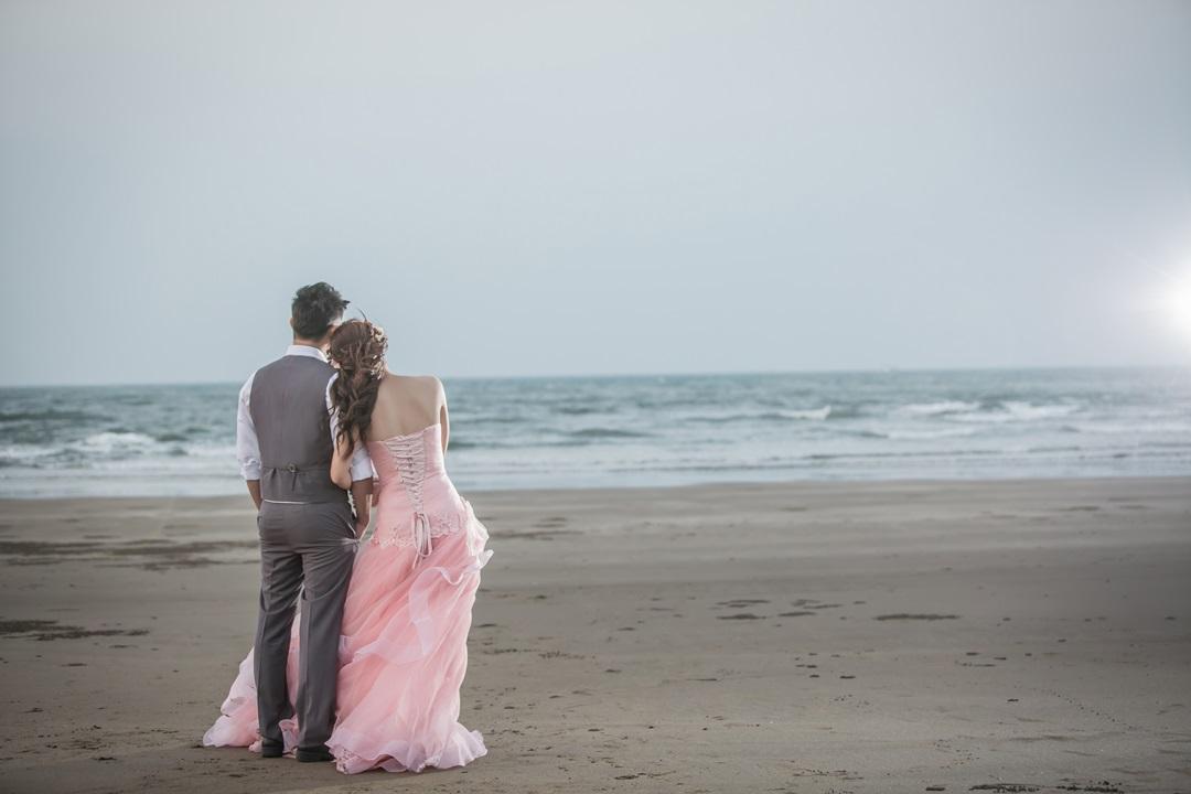 沙灘婚紗照-台北婚攝Mosquito