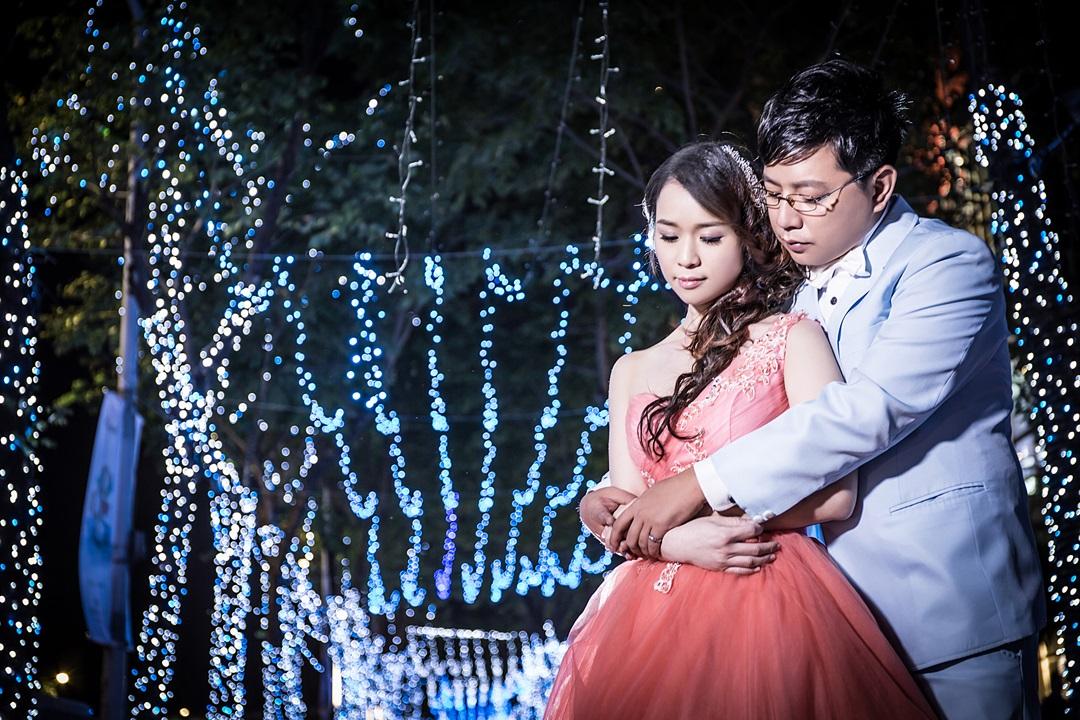 台北夜拍婚紗照-婚攝Mosquito
